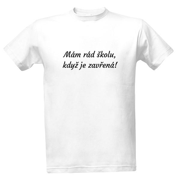 Tričko s potiskem 1. Školní triko  bc3887a942
